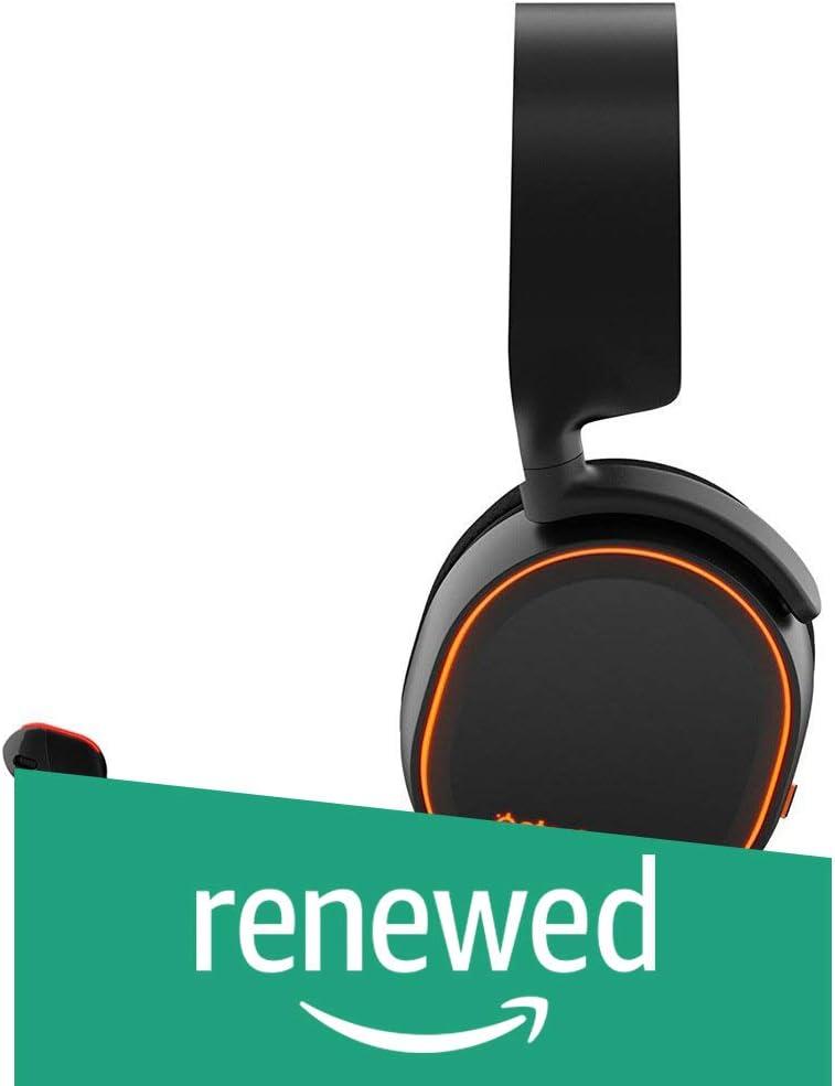 SteelSeries Arctis 5 RGB Illuminated Gaming Headset Renewed