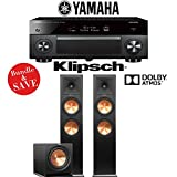 Yamaha AVENTAGE RX-A2070BL 9.2-Ch 4K Network AV Receiver + Klipsch RP-280FA + Klipsch R-112SW - 2.1-Ch Dolby Atmos Home Theater Package