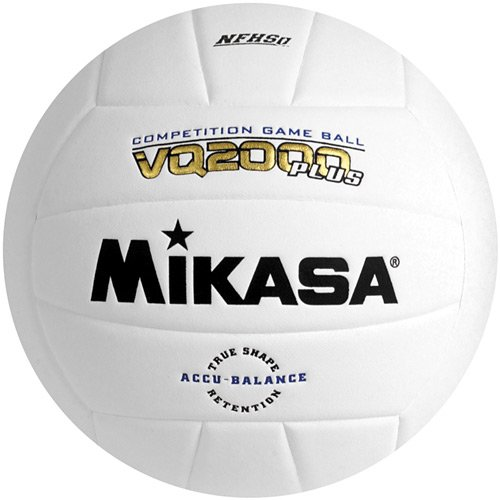 MIKASA SPORTS VQ2000 MICRO CELL INDOOR VOLLEYBALL WHITE