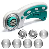 BONROB Rotary Cutter Set with Rotary Cutter Blades 45mm(6pcs Replacements), Perfect Set