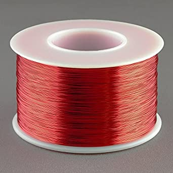 Magnet wire 30 gauge awg enameled copper 1570 feet coil winding and magnet wire 30 gauge awg enameled copper 1570 feet coil winding and crafts red keyboard keysfo Choice Image