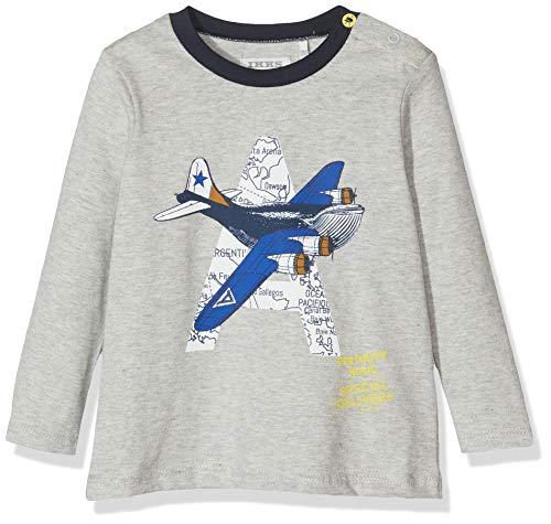 IKKS Junior Tee Shirt Ml Gris Avion baby-jongens t-shirt