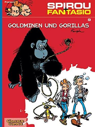 Spirou & Fantasio 9: Goldminen und Gorillas: (Neuedition)