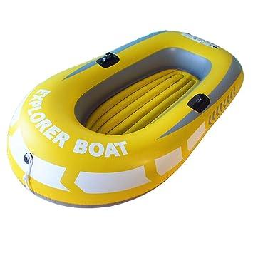 SS Boat Kayak 1 Kayak, Bote Inflable Amarillo, Adecuado para ...