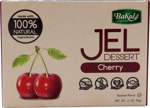 Bakol 100% Natural Jel Dessert Cherry -- 3 oz - 2 pc