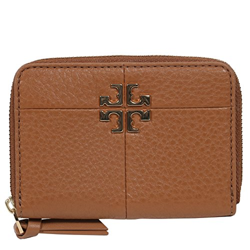 Tory Burch Ivy Zip Coin Case Mini Wallet Key Pouch Keyring by Tory Burch