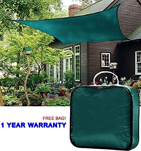 Quictent Rectangle 10x15 Ft Sun Sail Shade Canopy Top Cover Patio Garden W/free Bag- ()