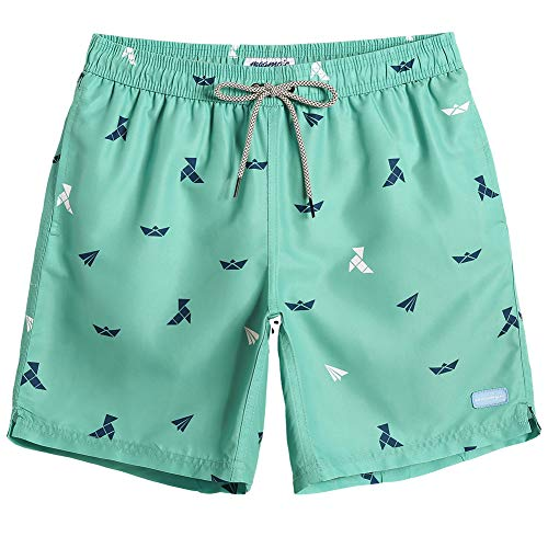 MaaMgic Mens Boys Short Funny Swim Trunks Slim Fit Swim Shorts Swimsuit for Men Mens Bathing Suits