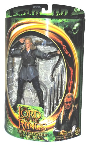 (The Lord of the Rings Fellowship of the Rings Legolas Action Figure)