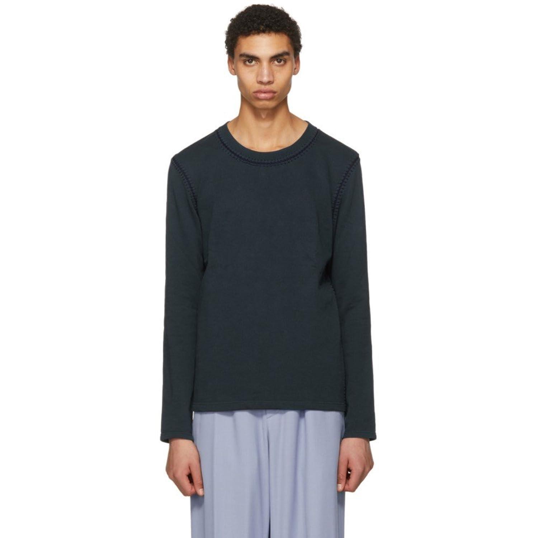 (アクネ ストゥディオズ) Acne Studios メンズ トップス ニットセーター Blue Feman Crewneck Sweater [並行輸入品] B07D14D4KZ S