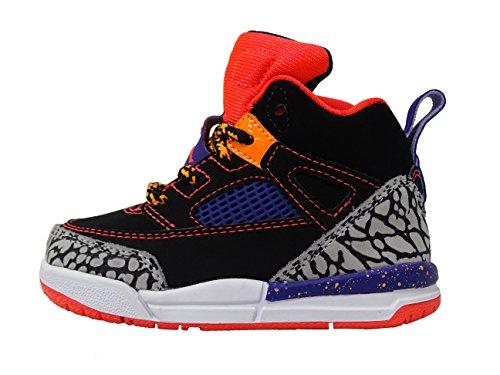 - Jordan Spizike BT Black/Bright Crimson/Court Purple (TD) (5)