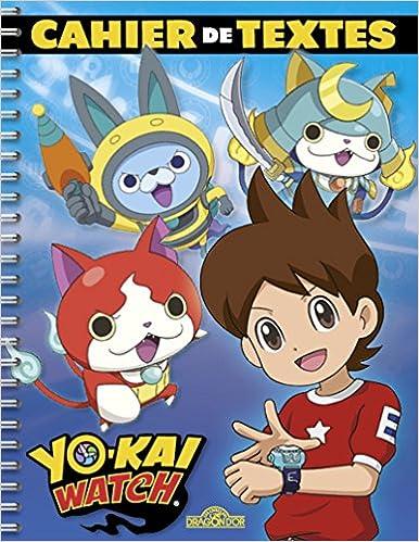 Yo-kai Watch - Cahier de textes