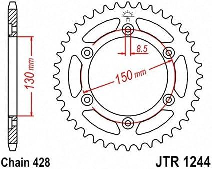 JT Sprockets JTR1244.51 51T Steel Rear Sprocket