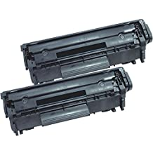 2 Inkfirst® Toner Cartridge 104 (0263B001AA) Compatible Remanufactured for Canon 104 FX9 FX10 Black imageCLASS MF4150 MF4270 MF4350D MF4370DN MF4690 D480 FAXPHONE L100 L120 L90