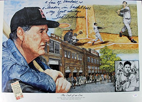 red-sox-ted-williams-signed-18x26-foamboard-poster-with-quote-psa-dna-certified-signed-mlb-baseball-