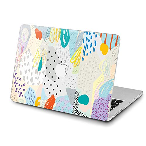 Lex Altern MacBook Pro 15 inch Mac Air 13 2018 Case 12 Impressionism Poetic 11 Paint 2017 A1989 A1708 Retina Abstract Cover Violet Hard 11 Shell Apple White 2016 Laptop Protective Print Pretty 2015