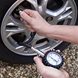 Auto-Tec-Pro-Tire-Pressure-Gauge-60-PSI-Accurate-Heavy-Duty-Air-Pressure-Gauge-For-Car-Motorcycle-or-Truck-4-Free-Valve-Caps