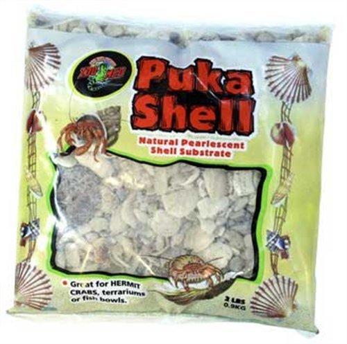 Puka Shell Natural Pearl Chips - Zoo Med Laboratories SZMHC2P Puka Shell Natural pearl Chips, 1.65-Pound