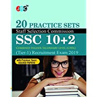 20 Practice Sets Staff Selection Commission (SSC) 10+2 CHSL (Tier-I) Recruitment Exam 2019