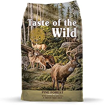 Taste of the Wild Grain Free High Protein Dry Dog Food Pine Forest - Venison