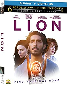 Cover Image for 'Lion [Blu-ray + Digital HD]'