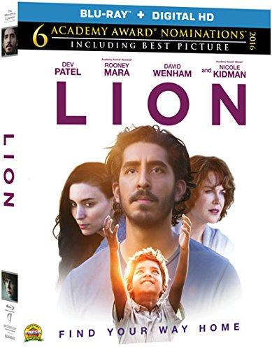Blu-ray : Lion (Ultraviolet Digital Copy)