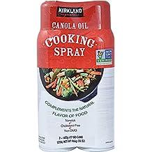 Kirkland Signature Canola Oil Cooking Spray Non-GMO 2/17 oz