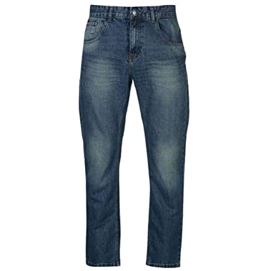 d0af32e9b2a Lee Cooper Mens Bootcut Jeans Zip Fly Button Fastening: Amazon.co.uk:  Clothing