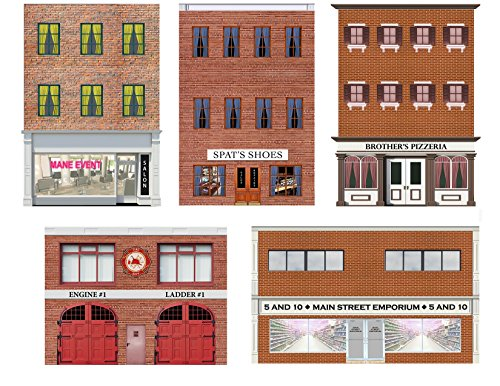 HO Scale Storefronts and Rears