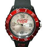 コカコーラ アメリカン シリコンウォッチ(ブラック)腕時計 ブランド メンズ腕時計 レディース腕時計 人気 電池交換 Coca-Cola/COKE アメリカン雑貨 アメリカ雑貨 コカコーラグッズ