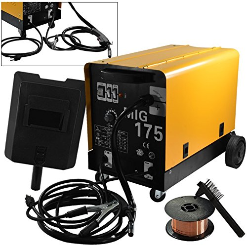 ARKSEN© MIG-175 160 AMP 230V Flux Core Wire Welding Machine