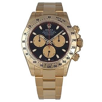 Rolex Daytona Gold Black Dial