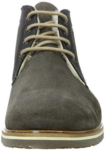 Lloyd Herren Varus Gore-tex Desert Boots Grau (lava / Zwart)