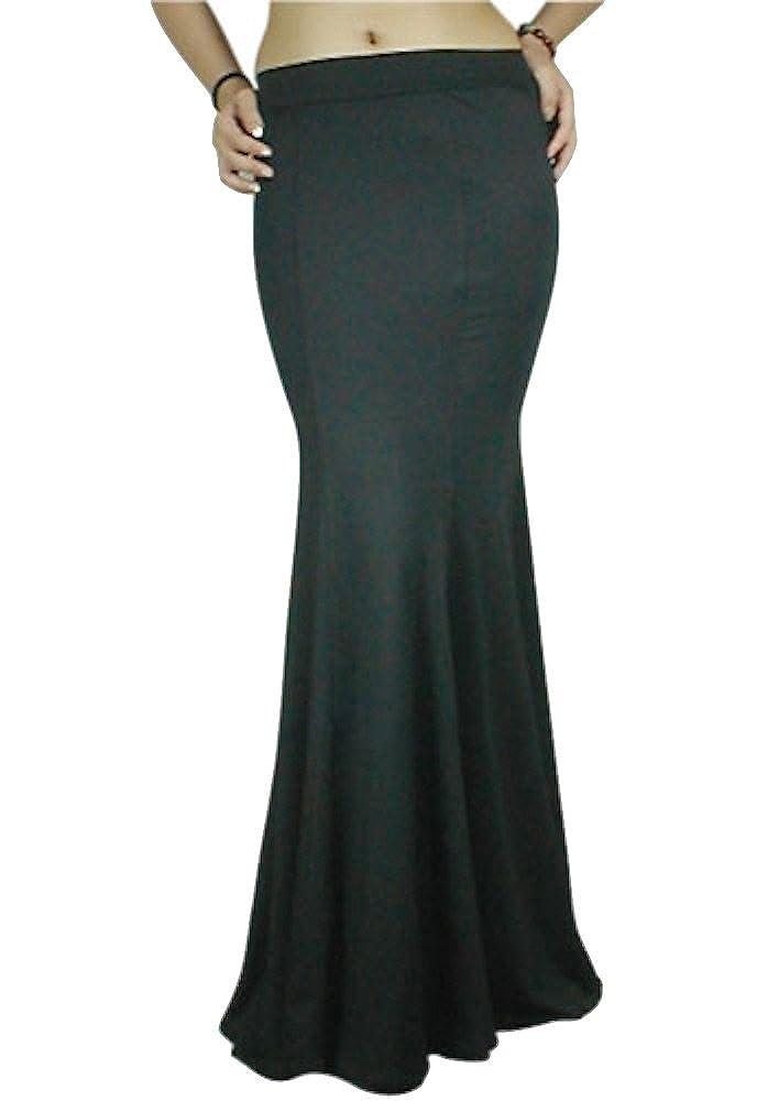 Black Gothic Fishtail Morticia Pagan Slinky Long Body Con Hourglass Maxi Skirt