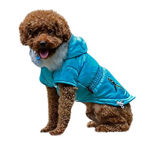 Geetobby Pet Dog Winter Warm Jacket Cat Puppy Hoodies Costume Coat Apparel