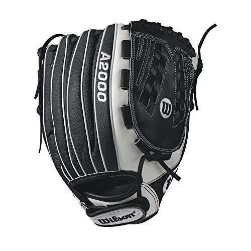 "Wilson A2000 V125 SuperSkin 12.5"" Outfield Fastpitch Glove - Right Hand Throw"