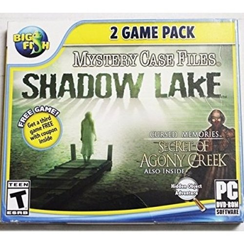 Mystery Case Files (Shadow Lake / Cursed Memories: Secret of Agony Creek) (Games Pc Mystery Files Case)