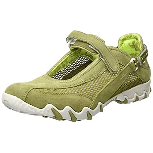 Allrounder by Mephisto Niro, Baskets mode femme, Leaf Green, 5