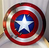 Gmasking Aluminum America Men's Props Adult Cosplay Shield 1:1 Replica+Adjustable Strap