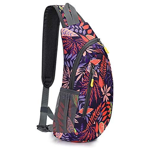 G4Free Sling Bags Men Women Shoulder Backpack Small Cross Body Chest Sling Backpack
