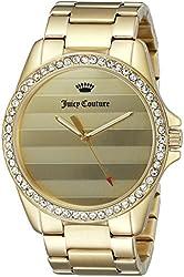 Juicy Couture Women's 1901289 Laguna Analog Display Quartz Gold Watch