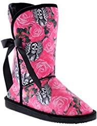 Iron Fist Womens Pink Beautiful Sinner Fugly Boots Shoes