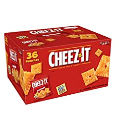 The one. The only. The Original. It's the iconic Cheez-It flavor you know and love. The square shape, the rigid edges, and that hole in the middle – everything about this baked snack cracker is the real deal, especially the cheese. Make snack time mo...