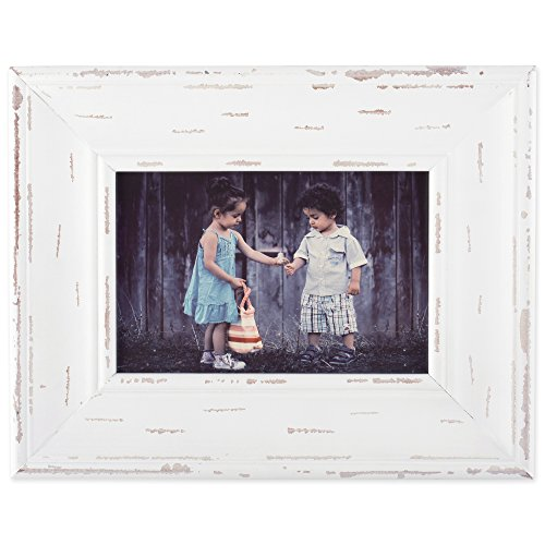 Home Traditions Rustic Farmhouse Distressed 4x6 Wooden Pictu