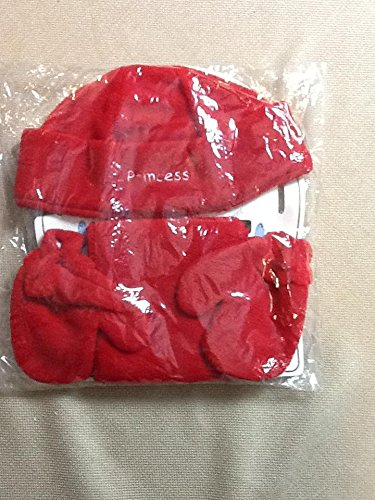 Wholesale Lot 2 Baby Hat & Mittens Sets - Red (Baby Supercenter)