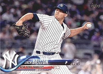 71e0ae403 2018 Topps Update #US131 Zach Britton New York Yankees MLB Baseball Trading  Card