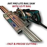 IMT-PRO LITE IP510S Professional Wet cutting Rail Saw For Granite With 12ft Rail Review
