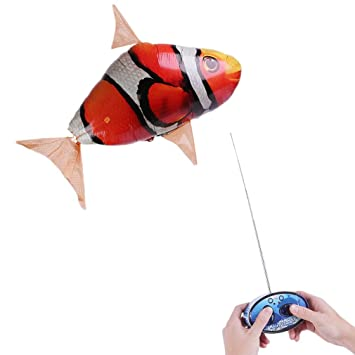 ballon dirigeable poisson