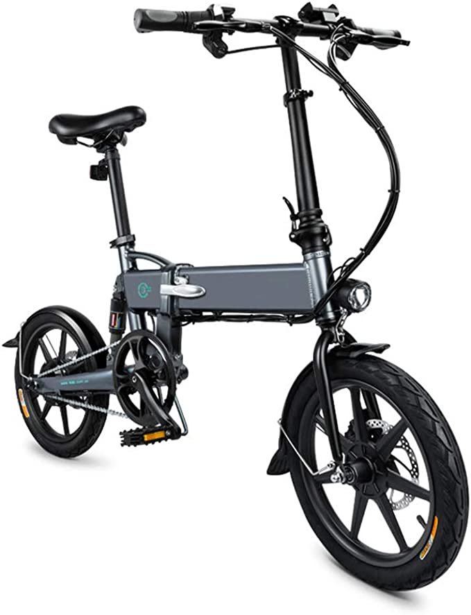 Leobtain - Bicicleta eléctrica Plegable para Bicicleta eléctrica ...