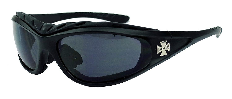 Choppers CLASSIC GOGGLES Sonnenbrille Biker Brille Motorradbrille matt schwarz tMv0OUdOGO